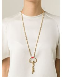 Aurelie Bidermann - Metallic 'soho' Snake Necklace - Lyst
