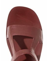 Zeus+Dione - Purple Hephaestus Leather Sandals - Lyst
