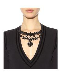 Givenchy - Metallic Embellished Necklace - Lyst