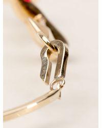 Delfina Delettrez - Metallic Aouch Bracelet - Lyst