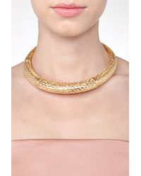 Aurelie Bidermann - Metallic Lafayette Necklace - Lyst