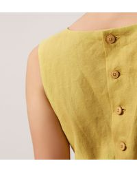 Hobbs | Yellow Lora Top | Lyst