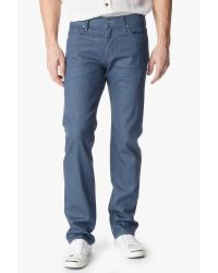 7 For All Mankind - Blue No Fade Denim: Standard Classic Straight for Men - Lyst