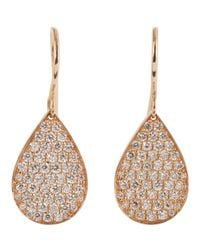 Irene Neuwirth - Pink Drop Earrings - Lyst