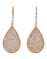 Irene Neuwirth | Pink Drop Earrings | Lyst