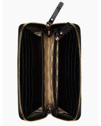 kate spade new york | Black Cedar Street Patent Lacey | Lyst