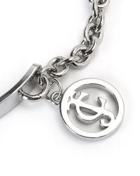 Juicy Couture | Metallic Jc Chain Bangle Bracelet | Lyst