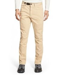 Gramicci - Brown 'city Jean' Stretch Twill Pants for Men - Lyst