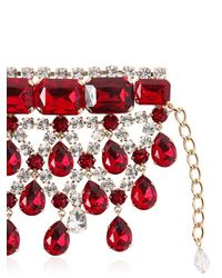 DSquared² | Red Crystal Bracelet | Lyst