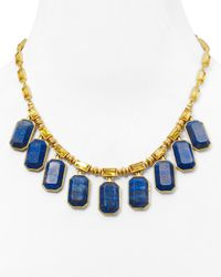 "Ralph Lauren | Blue Lauren Faceted Lapis Necklace 17"", Off The Runway Signature Collection 