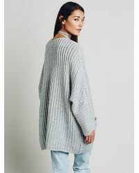 Free People | Gray Womens Pockets Pockets Tunic | Lyst