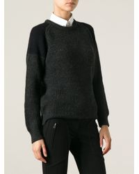 IRO - Gray Piper Sweater - Lyst