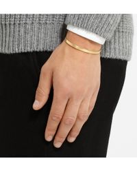 Le Gramme - Metallic Le 15 Polished Yellow Gold Cuff for Men - Lyst