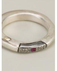 Rosa Maria - Metallic 'cosrudia' Ring - Lyst