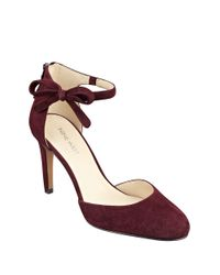 Nine West | Red Howley Suede Pumps | Lyst