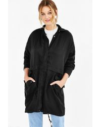 Silence + Noise - Black Tencel Cove Jacket - Lyst