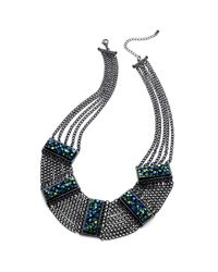 Material Girl - Metallic Necklace - Lyst