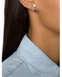Pamela Love | Gray '3 Gravitation' Earrings | Lyst