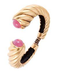 Oscar de la Renta | Pink Shell Hinge Bracelet | Lyst