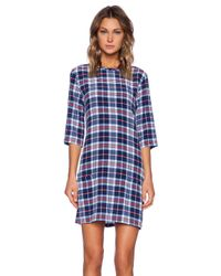 Equipment | Multicolor Aubrey Supreme Plaid Dress | Lyst