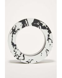 Nasty Gal | Black I Still Love You Nyc Marbleized Bangle | Lyst