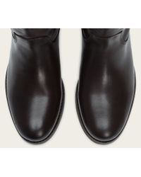 Frye | Black Melissa Button Wide | Lyst