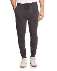 Michael Kors | Gray Look Back Merino Wool Pants for Men | Lyst