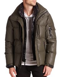 Sam. - Green Thompson Coated Down Puffer Jacket for Men - Lyst