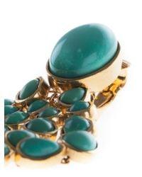 Aurelie Bidermann - Blue 'cherokee' Clip-on Earrings - Lyst