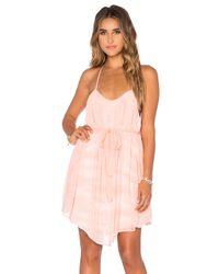 Young Fabulous & Broke Natural Madrina Jersey Dress