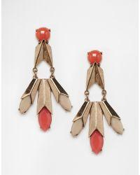 Nali - Red Drop Earrings - Lyst