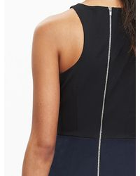 Banana Republic | Blue Sloan-fit Racer Sheath | Lyst