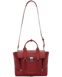 3.1 Phillip Lim | Red Crimson Medium Pashli Satchel | Lyst