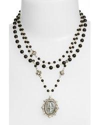 Virgins, Saints & Angels - Metallic 'magdalena' Necklace - Lyst