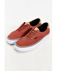 Vans - Brown Era 59 Cork Sneaker for Men - Lyst