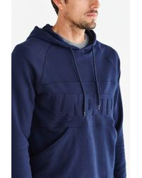 Undefeated - Blue Out Runner Pullover Hooded Sweatshirt for Men - Lyst