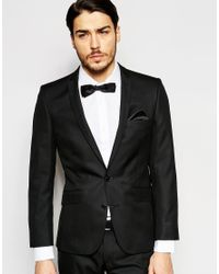 Ben Sherman | Black Plain Suit Jacket for Men | Lyst
