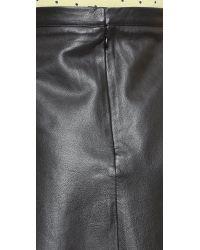 Love Leather - Legs Legs Legs Skirt - Black Licorice - Lyst