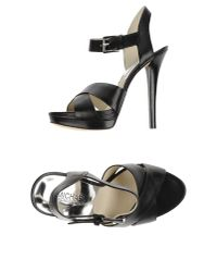 MICHAEL Michael Kors - Black Sandals - Lyst