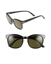 Electric | 'rip Rock' 50mm Polarized Sunglasses - Gloss Black/ Grey Polar | Lyst