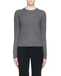 Rag & Bone | Gray 'alexis' Cashmere Sweater | Lyst