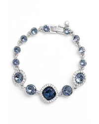 Givenchy - Metallic Jeweled Line Bracelet - Lyst