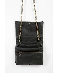 Urban Outfitters - Black Stud-Embellished Tri-Gusset Shoulder Bag - Lyst