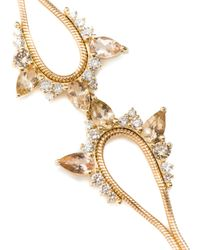 Fernando Jorge - Metallic Diamond & Yellow-Gold Electric Spark Bracelet - Lyst