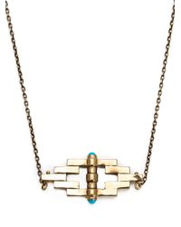 Pamela Love | Metallic 'reflection' Pendant Necklace | Lyst