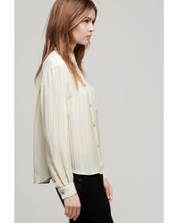 Rag & Bone - Natural Jo Anne Shirt - Lyst