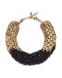 Lulu Frost | Black Poison Necklace | Lyst