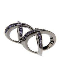 Giuseppe Zanotti   Purple Ring   Lyst