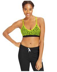 Nike | Multicolor Pro Dot-print Low-impact Sports Bra | Lyst