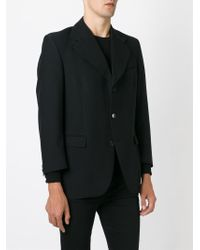 Dolce & Gabbana - Black Wide Lapel Blazer for Men - Lyst